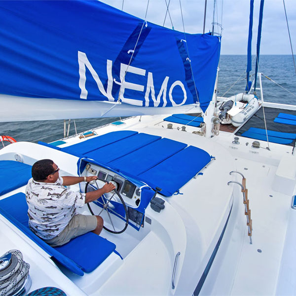 sailing on board of the Nemo I